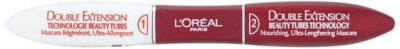 L,Oreal Paris Double Extension Beauty Tubes Technology Mascara 12 ml