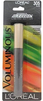 L,Oreal Paris Project Runway Voluminous Mascara Buildable Volume No Flake Formula Black 71249239384 8.4 ml