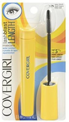 COVERGIRL Lashblast Length Water Resistant Very Black 2270012138 6.3 ml