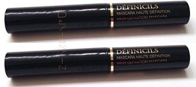 Cosmetics Set Of Two Travel Size Definicils High Definition Mascara In Black Each 2.1 ml
