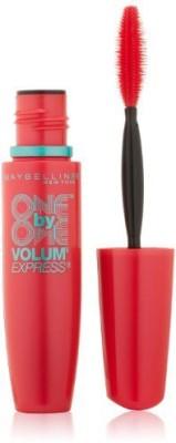 Maybeline New York Volum Express One By One Washable Mascara Blackest Black 1047271 9 ml