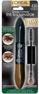 L,Oreal Paris Double Extend Illuminator Mascara Black Bronze 71249178676 12 ml