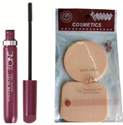 Oriflame Sweden THE ONE VOLUME BLAST MASCARA WITH COMPACT SPONGES 8 ml(BLACK)