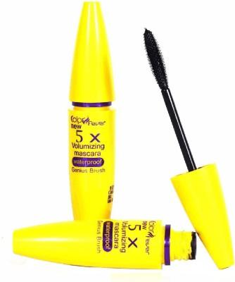 Color Fever Voloumizing Waterproof Black Mascara 8 ml