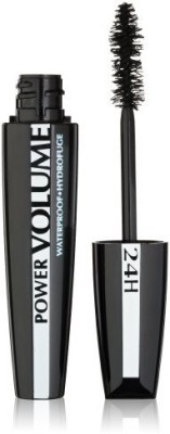L,Oreal Paris Voluminous Power Volume Waterproof Mascara Blackest Black 033 K1170000 9.9 ml(Black)