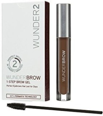 Wunder2 Brow - Perfect Eyebrows In 2 Mins - Auburn 41.398 ml(Black)
