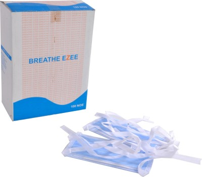 BREATHE EZEE FMIPLBE 2ply Mask and Respirator