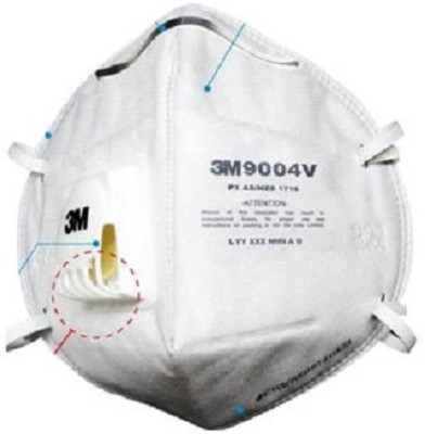 3M Anti-Pollution 9004WV Mask and Respirator