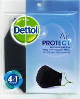 Dettol Air Protect Anti Dust mask,Anti Pollution Mask Mask