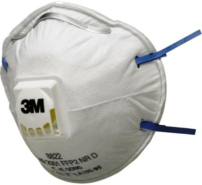 3M 8822 FFP2 Valved Disposable Mask and Respirator