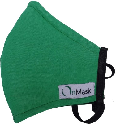 OnMask Dark Green (Medium) Mask and Respirator