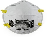 3M ASREH 8210 N95 pack of 3 swine flu mask+ear plug Mask