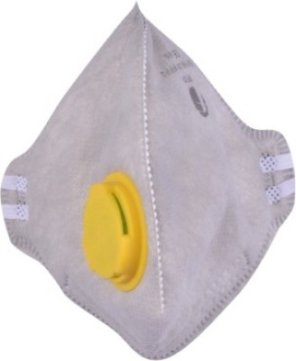 Midas Safety Non Woven Flat Fold Gray P2FF22VC Mask and Respirator