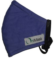 OnMask Navy Blue (Large) Mask and Respirator