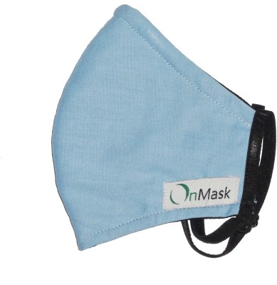 OnMask Light Blue (Large) Mask and Respirator