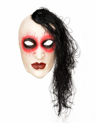 Tootpado Realistic Latex Rubber Adult Size - 1a196 - Horror Halloween Ghost Scary Full Face Cosplay Costumes supplies Creepy Zombie Party Mask(Multicolor, Pack of 1)