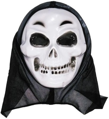 ca84d90545e Oxytrends HALLOWEEN SCARY MASK PACK OF 5 PIECES - WHITE Party Mask(White