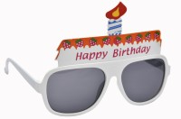 Atpata Funky Happy Birthday (Goggle) Party Mask(White, Pack of 1)