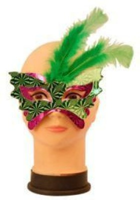 Smartcraft Feather Eye Mask Party Mask