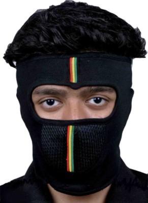 New Life Enterprise Black Bike Face Mask for Men & Women(Size: Free,  Balaclava)