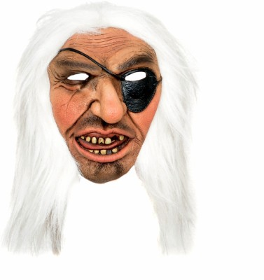 Tootpado Realistic Latex Rubber Adult Size Pirate 1a213 - Horror Halloween Ghost Scary Full Face Cosplay Costumes supplies Creepy Zombie Party Mask