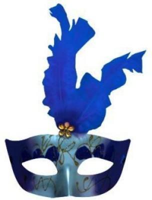 Smartcraft Showgirl eye mask-Blue Party Mask