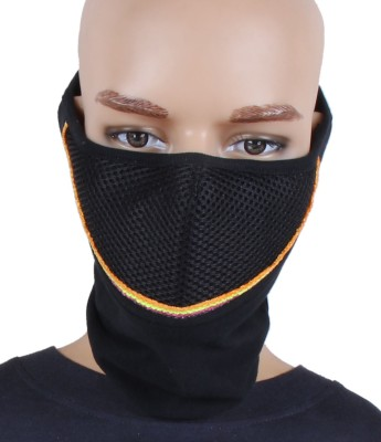 Sushito Gost Anti-pollution Mask(Black, Pack of 1)