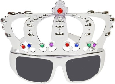 Funcart Silver Crown Glasses