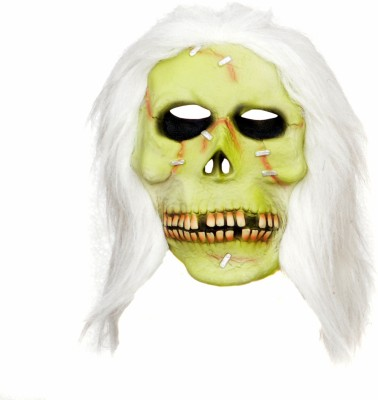 Tootpado Realistic Latex Rubber Adult Size Skull 1a207 Horror Halloween Ghost Scary Full Face Cosplay Costumes Supplies Creepy Zombie Party Mask