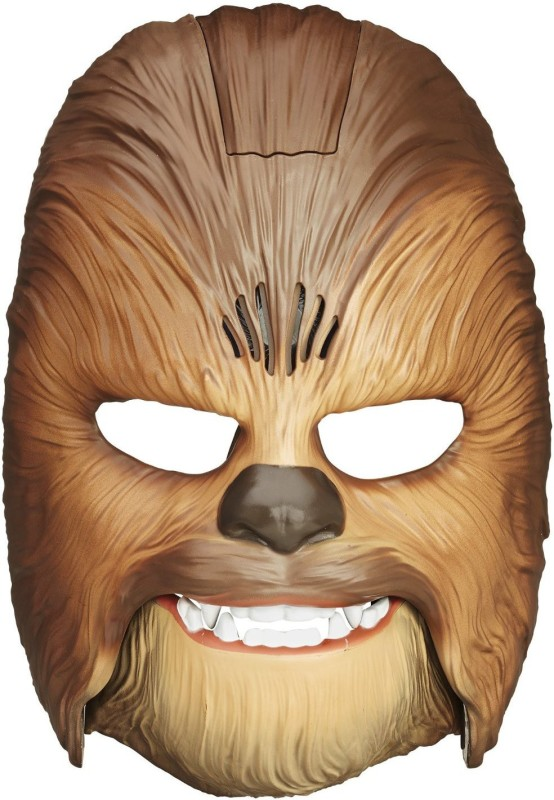 akara Tomy The Force Awakens Chewbacca Electronic Mask Party Mask(Brown, Pack of 1)