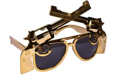 Atpata Funky Golden Gun (Goggle) Party Mask