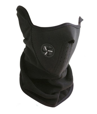 Flomaster Black Bike Face Mask for Boys