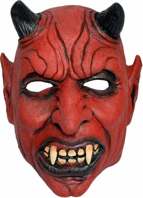 Tootpado Realistic Latex Rubber Adult Size - Devil 1a172 - Horror Halloween Ghost Scary Full Face Cosplay Costumes supplies Creepy Zombie Party Mask