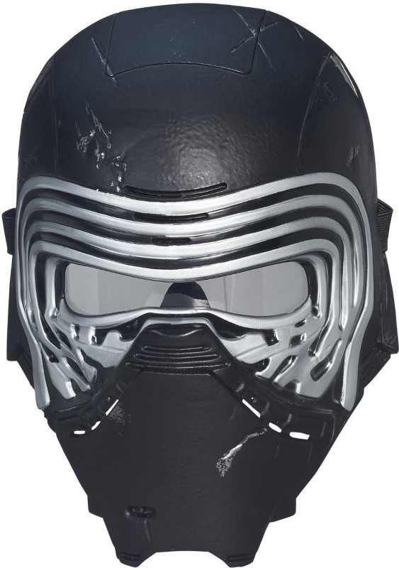 Star Wars The Force Awakens Kylo Ren Electronic Voice Changer Mask Party Mask(Black, Pack of 1)