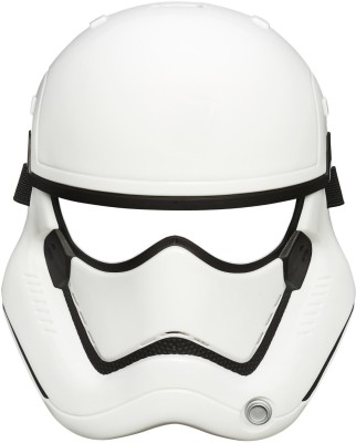 Star Wars The Force Awakens First Order Stormtrooper Mask Party Mask(White, Pack of 1)
