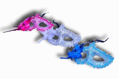 Oxytrends Classy Eye Party Mask(Multicolor, Pack of 3)