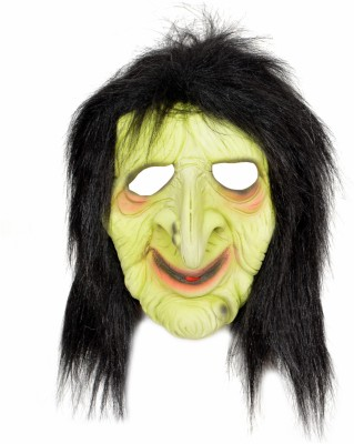 Tootpado Realistic Latex Rubber Adult Size Face - Witch 1a190 - Horror Halloween Ghost Scary Full Face Cosplay Costumes Supplies Creepy Zombie Party Mask