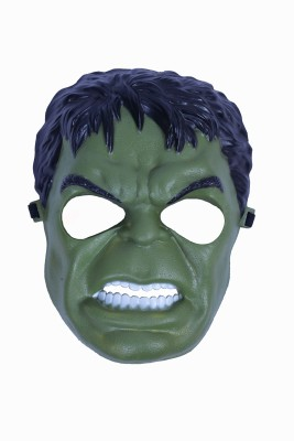 Oxytrends HULK Party Mask(Green, Pack of 3)