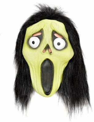 Tootpado Realistic Latex Rubber Adult Size Face - Witch 1a192 - Horror Halloween Ghost Scary Full Face Cosplay Costumes supplies Creepy Zombie Party Mask