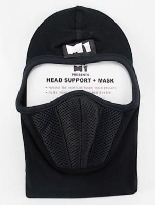 Bike World M1 Head Support Cotton Face Mask Balaclava
