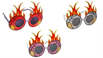 Atpata Funky Fireball (Goggles) Party Mask