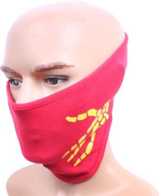 Sushito Skull Hand Red Biker Anti-pollution Mask