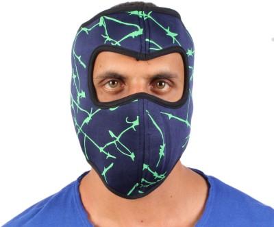 Sushito Green Striped Design Biker Anti-pollution Mask