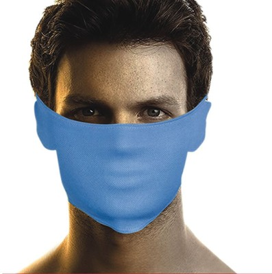 Bikers Gear Blue Mask Anti-pollution Mask