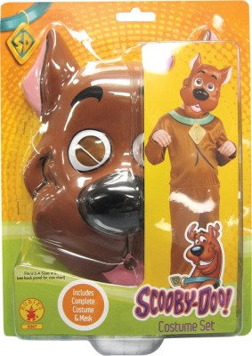 Rubie's Scooby-Doo Costume Set Party Mask