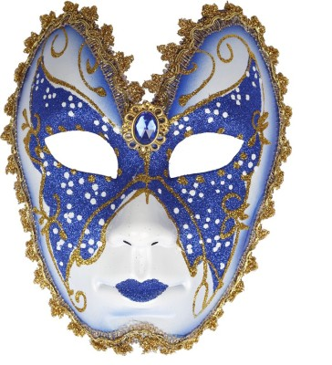 Madcaps The Partyshop Mask Full w Stone Party Mask
