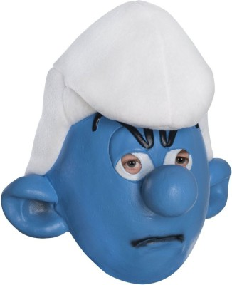Rubie's The Smurfs Movie Child's Mask, Grouchy Party Mask(Blue, White, Pack of 1)