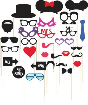 M1 Props Set Party Mask