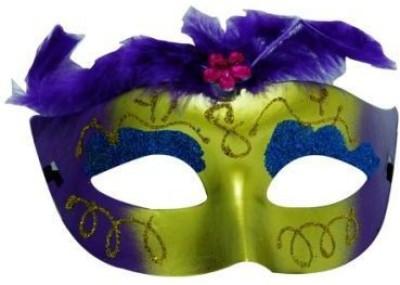 Smartcraft Showgirl eye mask-Purple Party Mask