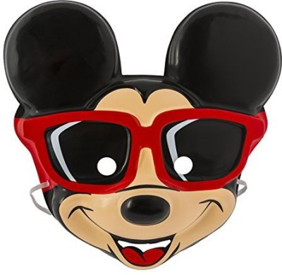 Amscan Mickey Mouse Molded Mask Party Mask(Multicolor, Pack of 1)